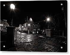Village Walk Acrylic Print