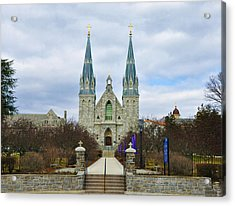 Villanova College Acrylic Print by Bill Cannon