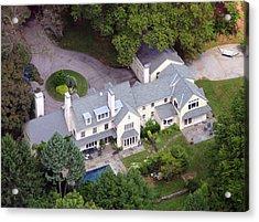 Villanova Main Line Aerial Photograph 2763 Acrylic Print