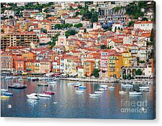 Villefranche-sur-mer On French Riviera Acrylic Print