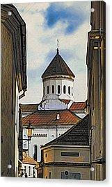Vilnius Old City Acrylic Print