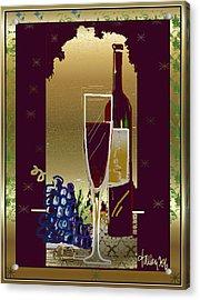 Vin Pour Une Acrylic Print