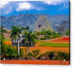 Vinales Valley. Cuba Acrylic Print