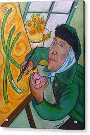 Vincent And The Asparagus Acrylic Print