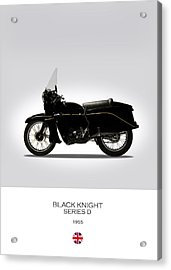 Vincent Black Knight 1955 Acrylic Print