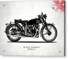 Vincent Black Shadow Acrylic Print