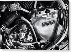 Vincent Engine Detail Acrylic Print by Tim Gainey