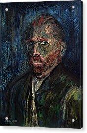 Vincent Van Gogh    Acrylic Print by Antonio Ortiz
