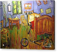 Vincent Van Go's Bedroom Acrylic Print