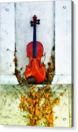 Vines And Violin Acrylic Print by Bill Cannon