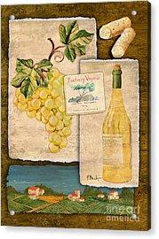 Vineyard View II Acrylic Print by Paul Brent