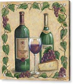 Vino Di Tuscana Acrylic Print