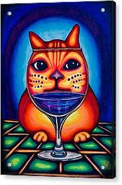 Vino Kats Acrylic Print