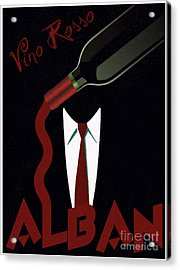 Vino Rosso  Acrylic Print by Cinema Photography