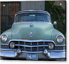 Acrylic Print featuring the photograph Vintage 1950s Cadillac by Gigi Ebert