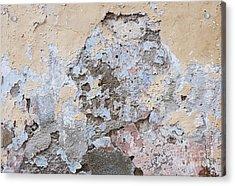 Vintage Abstract IIi Acrylic Print by Elena Elisseeva