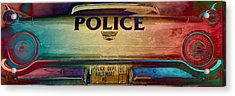 Vintage Baltimore Police Department Car Acrylic Print