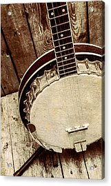 Vintage Banjo Barn Dance Acrylic Print by Jorgo Photography - Wall Art Gallery