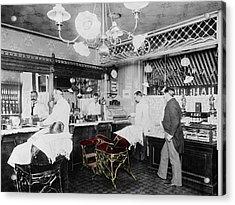 Vintage Barbershop 4 Acrylic Print