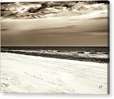 Acrylic Print featuring the photograph Vintage Beach Haven by John Rizzuto