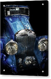 Vintage Bentley Acrylic Print by Martin Newman