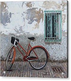 Vintage Series #3 Bike Acrylic Print