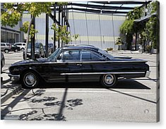 Vintage Black Ford Starliner . 5d16707 Acrylic Print by Wingsdomain Art and Photography
