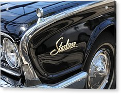 Vintage Black Ford Starliner . 5d16714 Acrylic Print by Wingsdomain Art and Photography