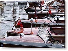 Vintage Boats Acrylic Print