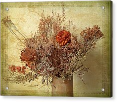Acrylic Print featuring the photograph Vintage Bouquet by Jessica Jenney