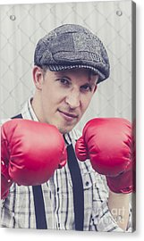 Vintage Boxers Acrylic Print by Jorgo Photography - Wall Art Gallery