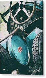 Vintage Bugatti T23 Acrylic Print by Tim Gainey