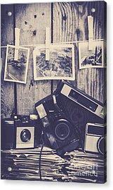 Vintage Camera Gallery Acrylic Print