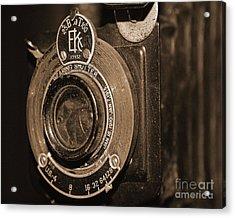 Vintage Camera Lens Acrylic Print