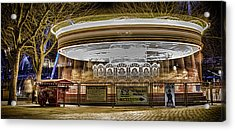 Vintage Carousel Acrylic Print by Martin Newman