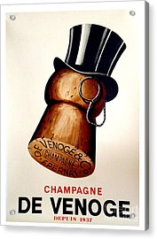 Vintage Champagne Acrylic Print