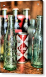 Vintage Chic Acrylic Print by JC Findley