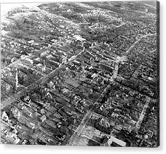 Vintage Concord North Carolina Aerial Acrylic Print