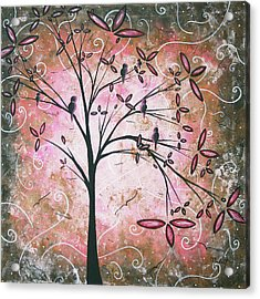 Vintage Couture By Madart Acrylic Print by Megan Duncanson