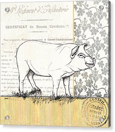 Vintage Farm 2 Acrylic Print by Debbie DeWitt