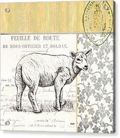 Vintage Farm 3 Acrylic Print by Debbie DeWitt