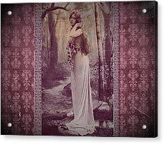 Vintage Femme Fatale Acrylic Print