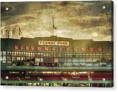 Vintage Fenway Park - Boston Acrylic Print