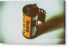 Vintage Film Acrylic Print by Martin Newman