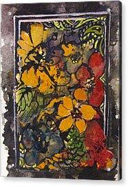 Vintage Flowers Acrylic Print