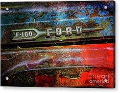 Vintage Ford F100 Acrylic Print