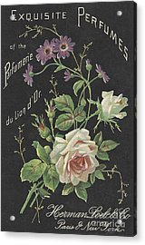 Vintage French Perfume  Acrylic Print
