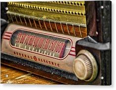 Vintage G.e. Radio Acrylic Print