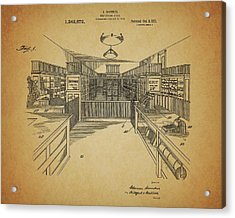 Vintage General Store Acrylic Print
