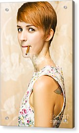 Vintage Glamour Acrylic Print by Jorgo Photography - Wall Art Gallery